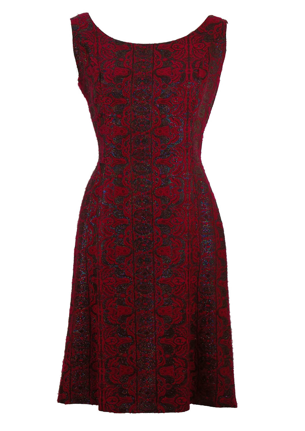 Vintage 1950's Brocade Party Dress – M – Reign Vintage