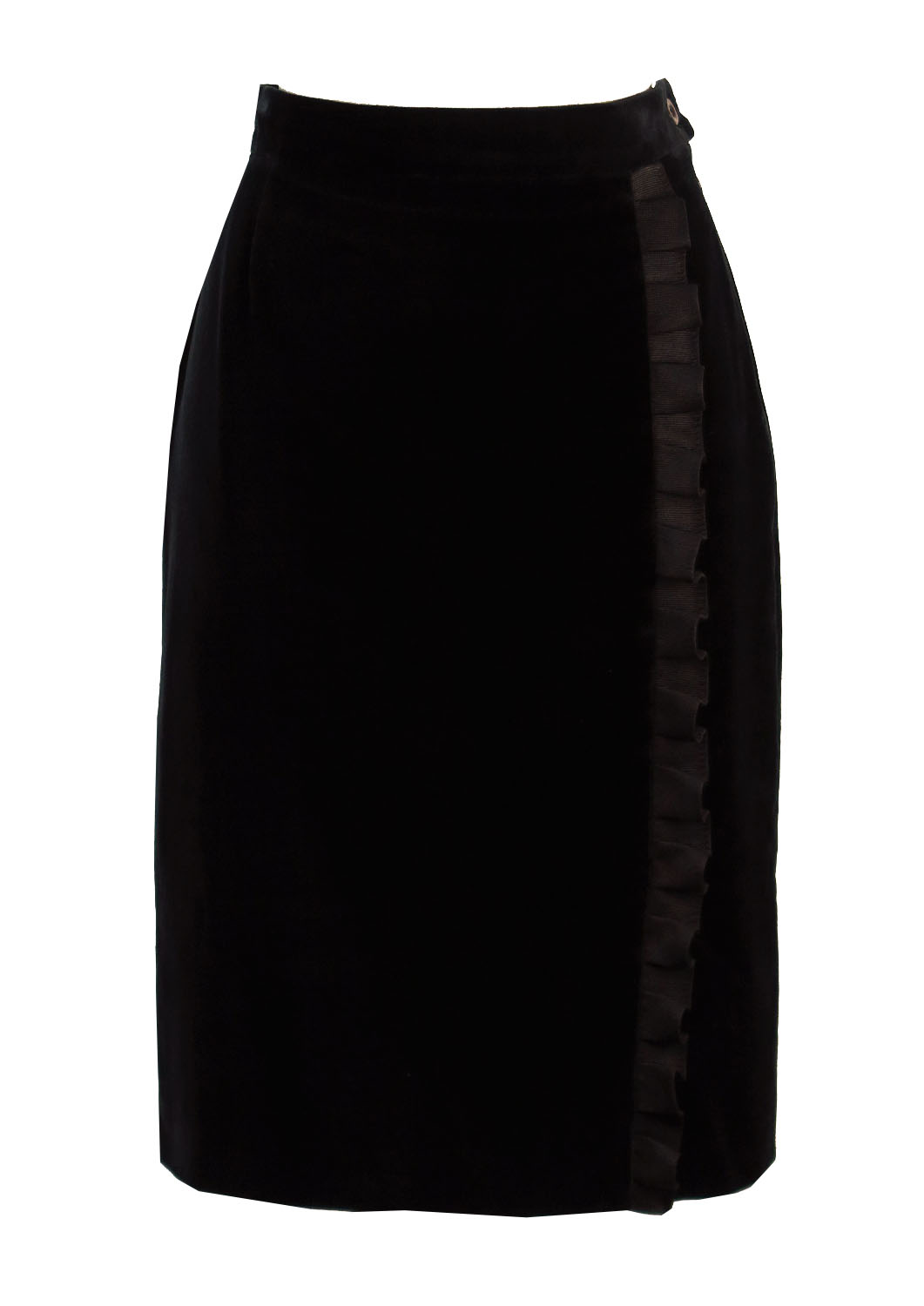 Pencil Skirt With Ruffle 25