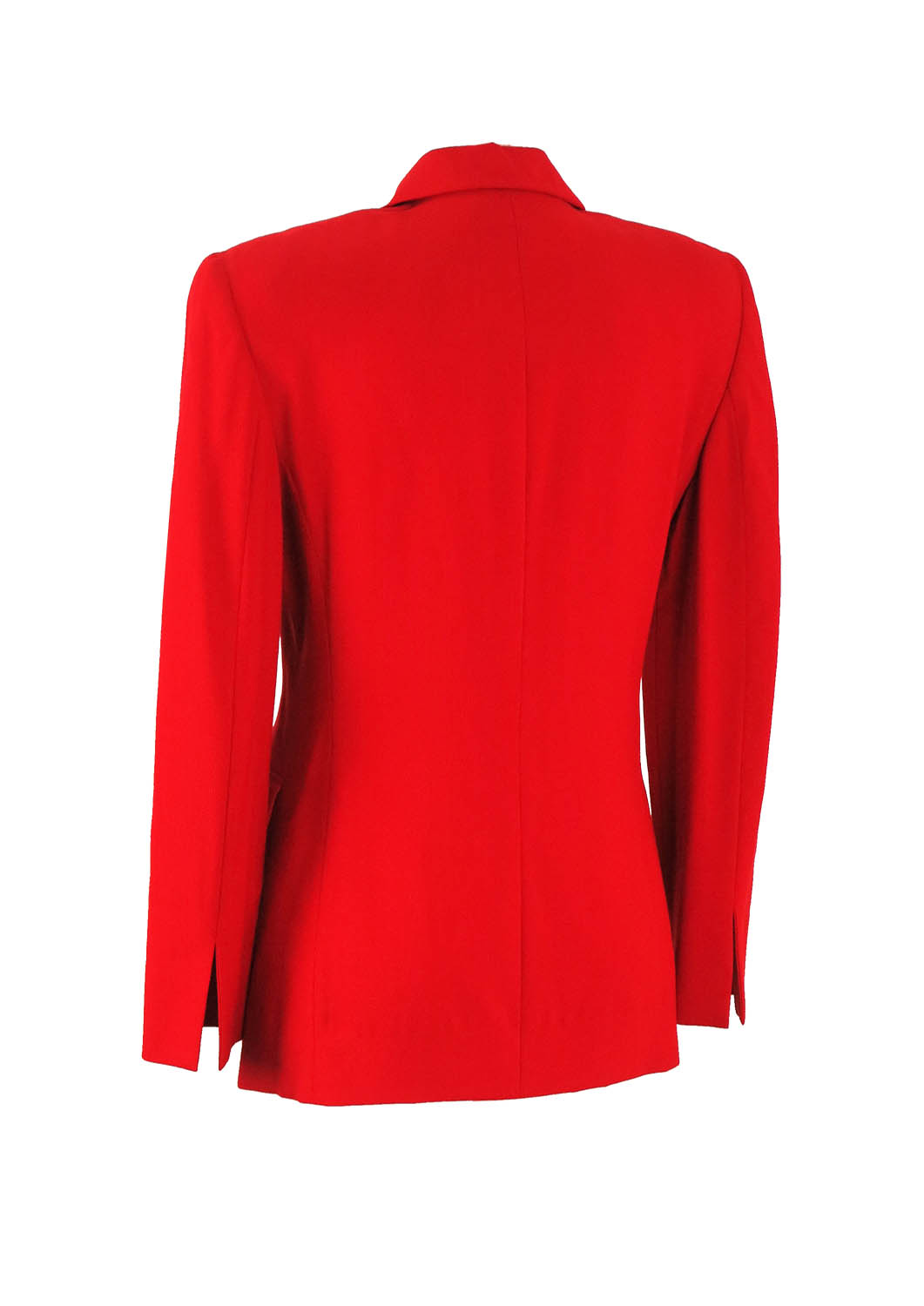 Ferre Studio 0001 Red Jacket With Gold Buttons S M