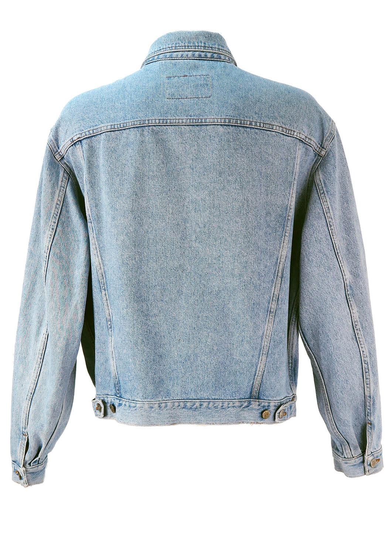 light blue denim jacket – xlxxl – reign vintage