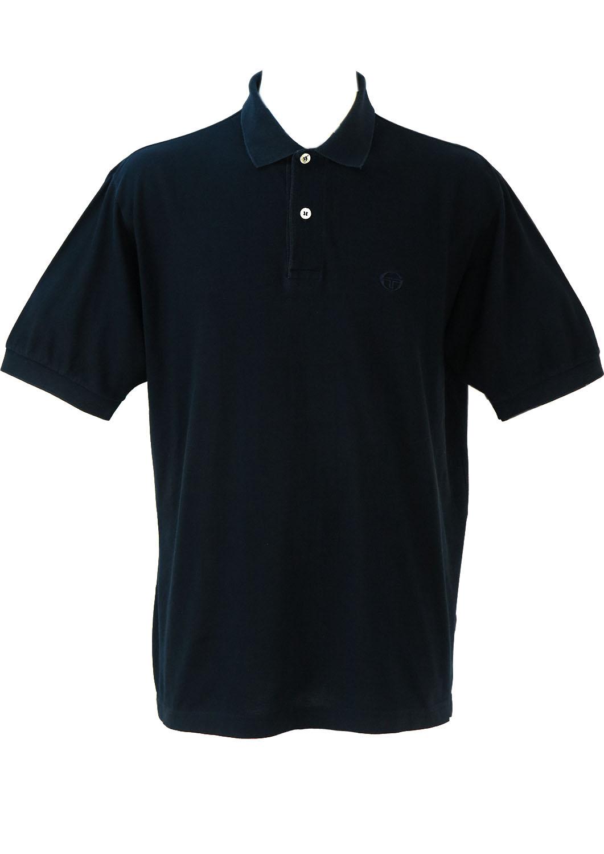 b1c70eded Sergio Tacchini Navy Blue Polo Shirt – XL XXL