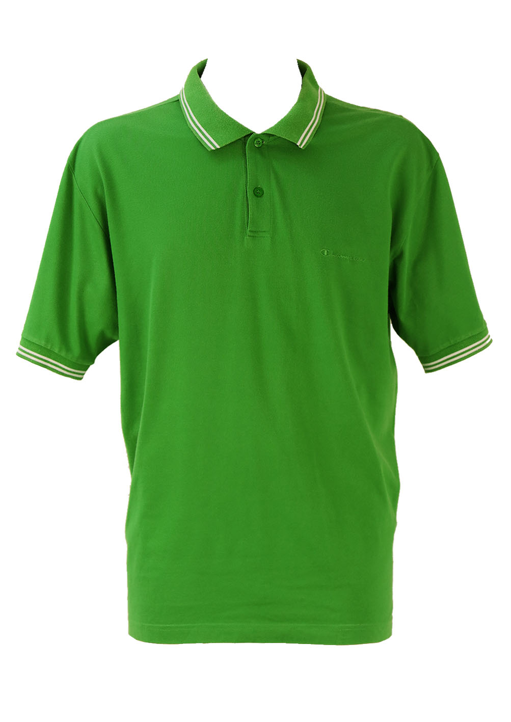Champion emerald green polo shirt xl xxl reign vintage Emerald green mens dress shirt