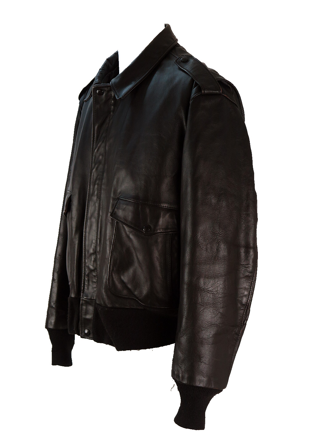 Schott Brown Leather Flight Bomber Jacket Xl Xxl Reign