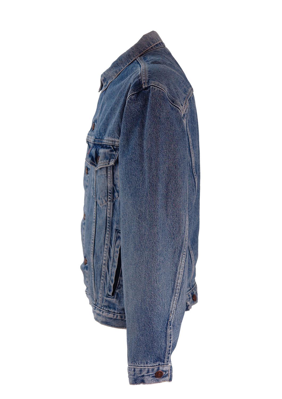 Levis Blue Denim Jacket Xl Reign Vintage