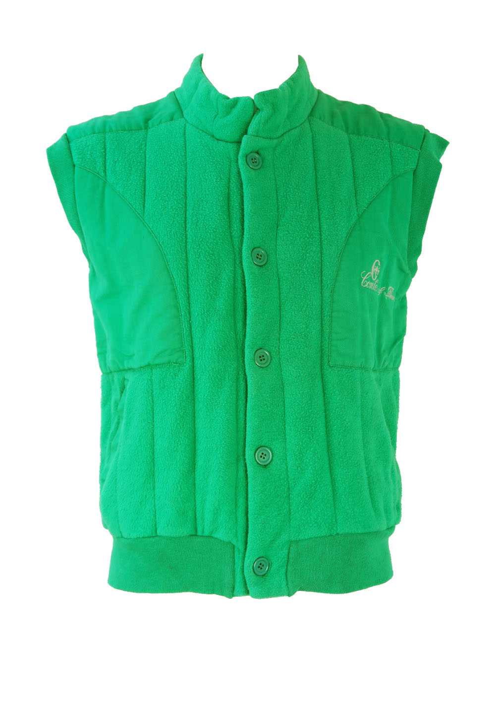 836d8332a6117 Conte of Florence Green Ribbed Gilet – S M