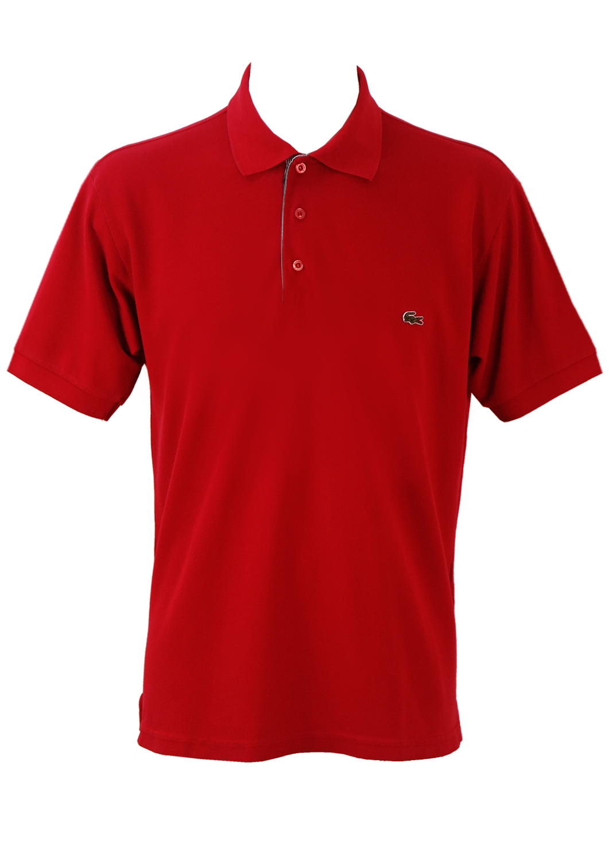 9a748dfa Lacoste Red Polo Shirt - XL
