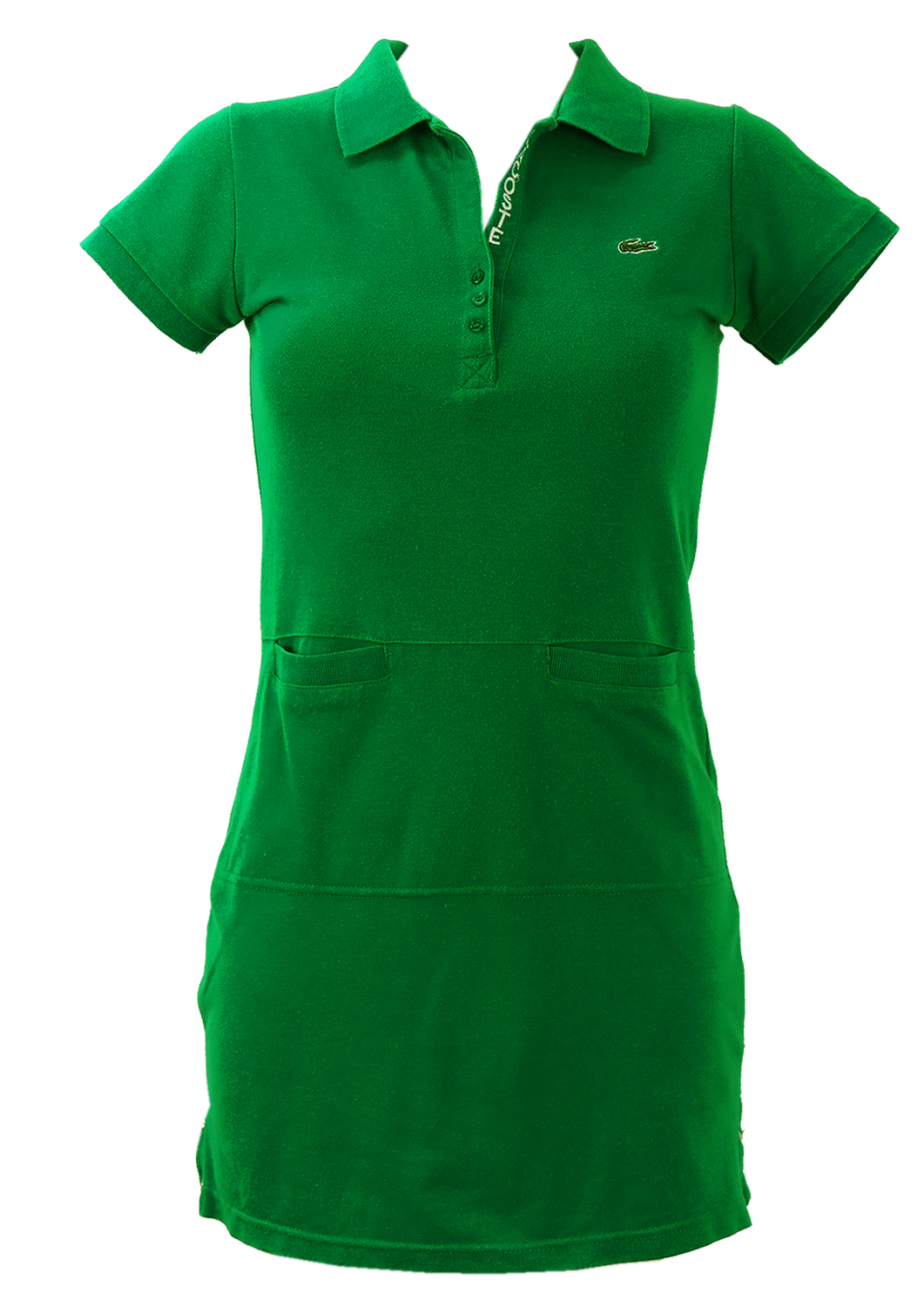 Lacoste 'Michael Young' Green Polo Shirt Dress – XS/S ...