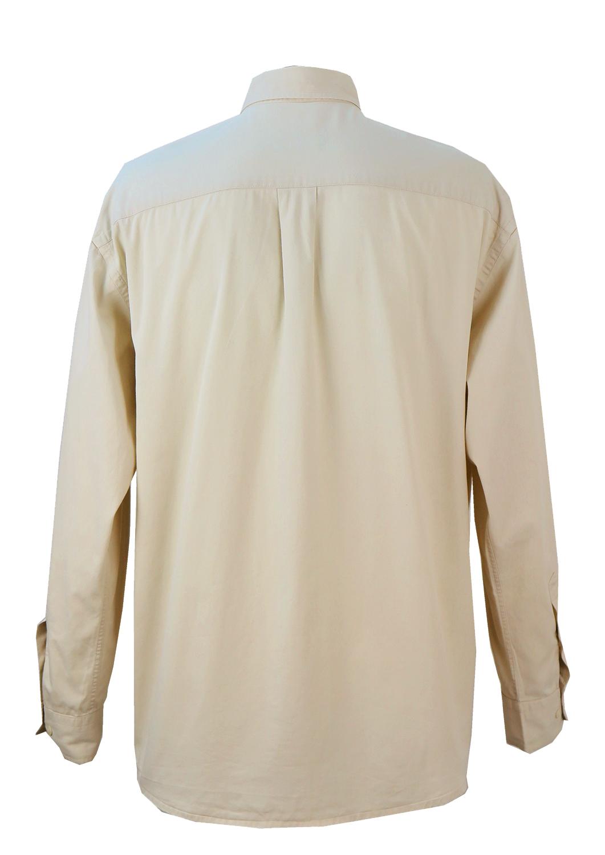 61bdddb13c Ralph Lauren Cream Cotton Shirt – XXL XXXL – Reign Vintage