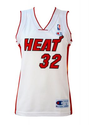Champion NBA White & Red 'O'Neal' Basketball Vest – S/M