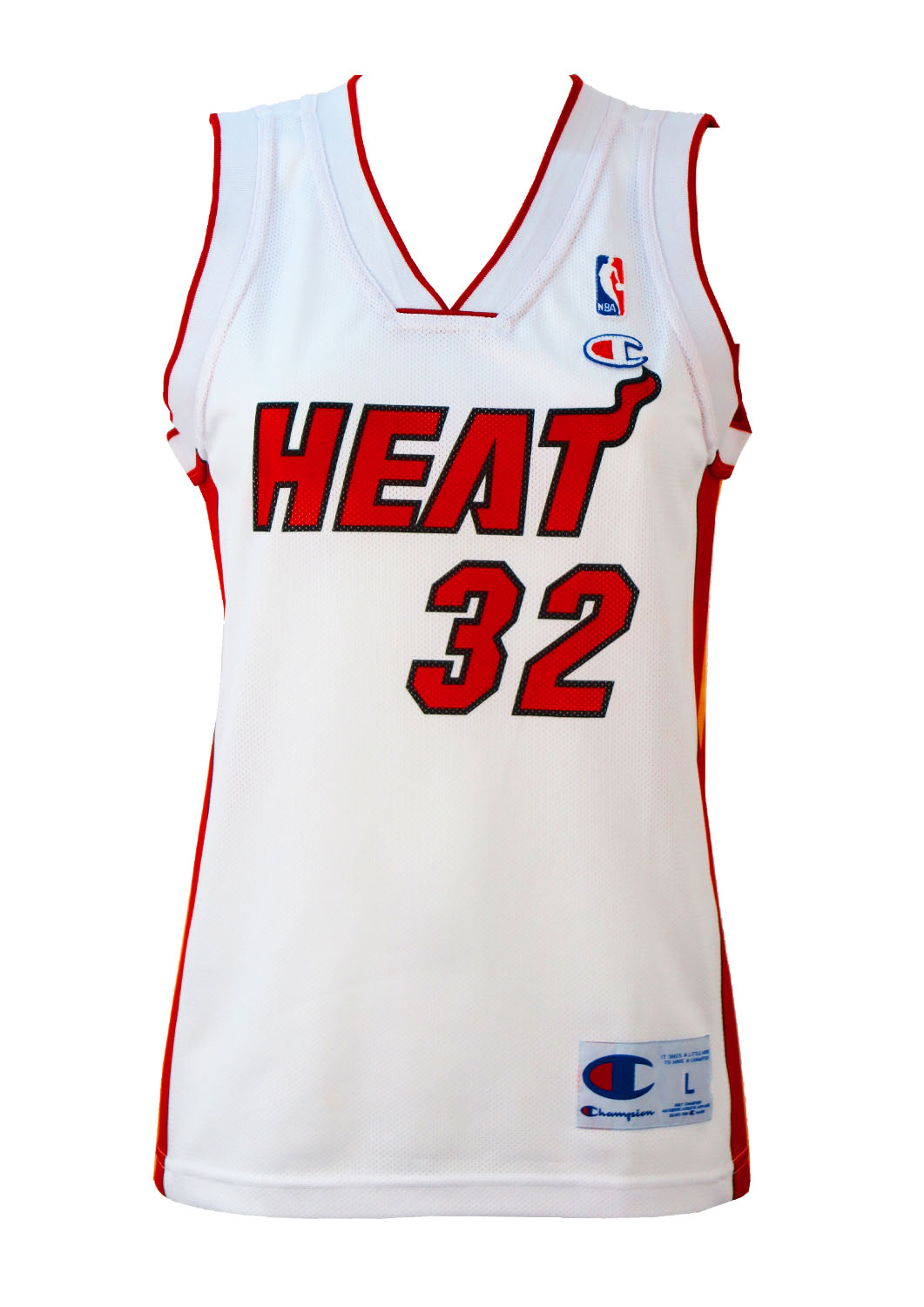 Champion NBA White   Red  O Neal  Basketball Vest – S M – Reign Vintage 459f64684e1c