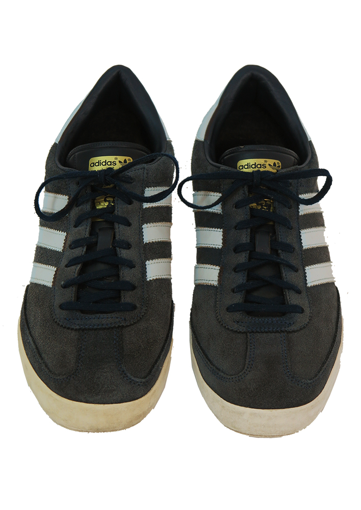2149bd9b694 Adidas Blue Suede  Beckenbauer Allround  Trainers - UK Size 8.5. Touch to  zoom