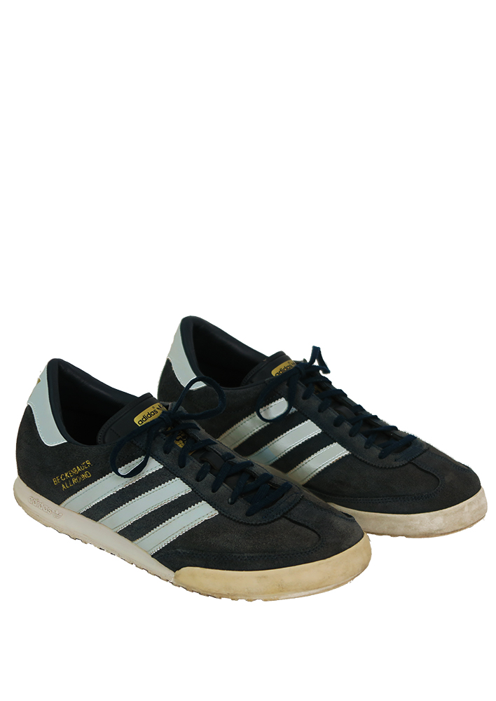 cheaper 36fdd 7fc33 Adidas Blue Suede  Beckenbauer Allround  Trainers - UK Size 8.5
