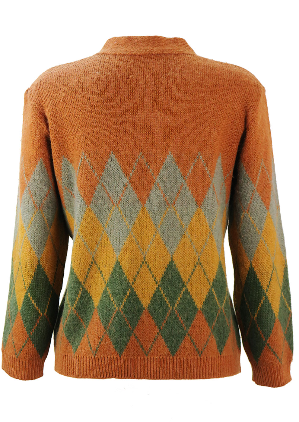 add2b154d5f35 Part Alpaca Knitted Cardigan with Russet