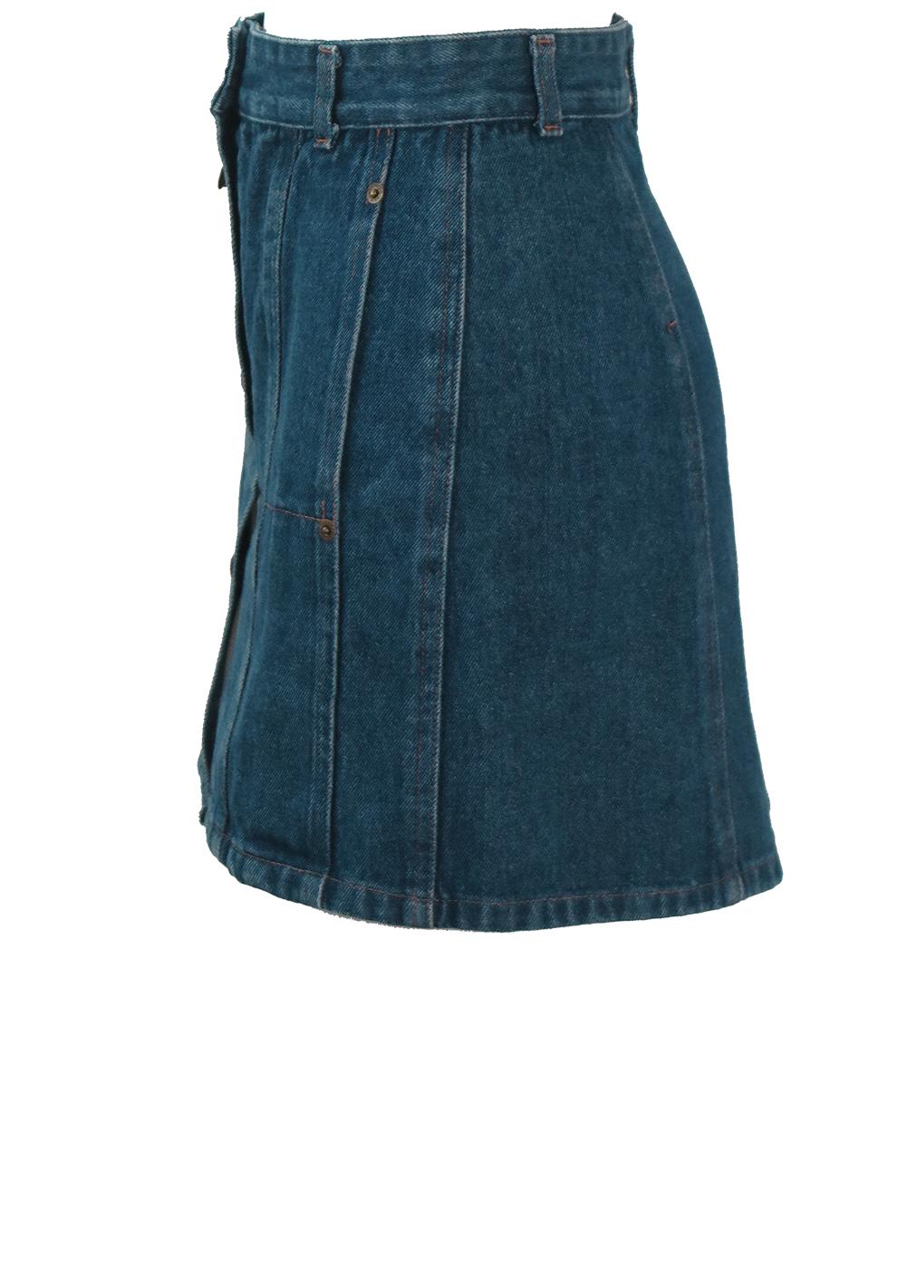 616d4f0ef Kenzo Blue Denim Mini Skirt - XS