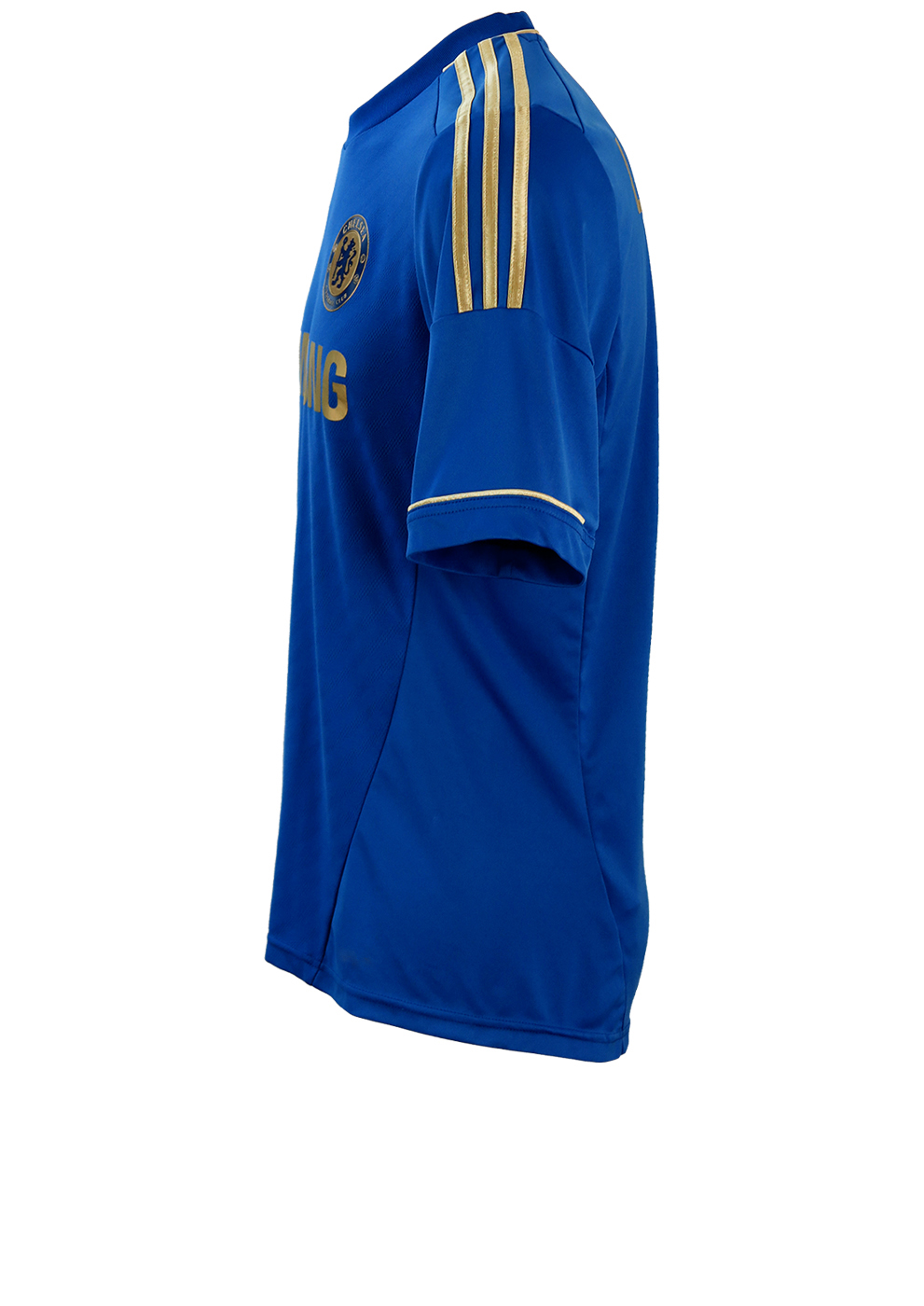 sports shoes 86af2 22119 2012 Chelsea Football Club TechFit Lampard 8 Adidas Blue & Gold Home Shirt  - M