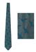 Giorgio Armani Flying Ducks Blue Tonic Tie