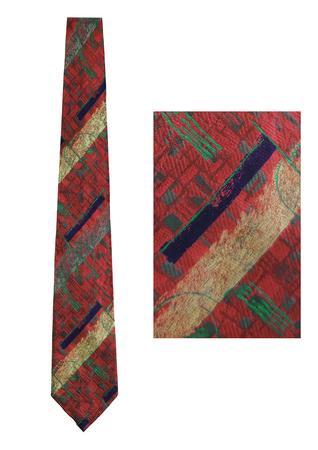 Pal Zileri Silk Dusty Pink Abstract Geometric Tonic Tie