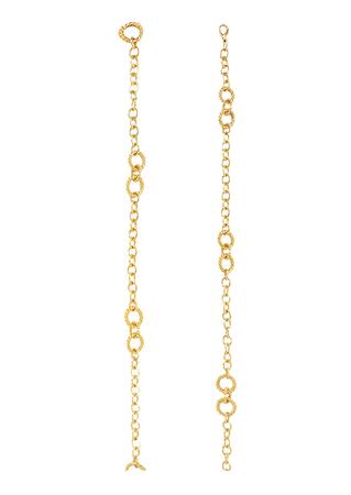 Decorative Metallic Gold Chain Belt