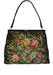 Vintage 1960's Floral Tapestry Style Handbag with Diamante Clasp