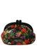 Multicoloured Fruit & Floral Patterned Vinyl Clutch Bag with Random Surfer!