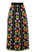 Vintage 1970's Multicoloured Floral Maxi Skirt - S