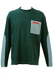 Prada Long Sleeved Multi Textured Teal Top - L/XL