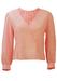 Vintage 60's Pink Blouse with Asymmetric Pleat Detailing - L