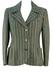 Vintage 60's Striped Jersey Jacket - M