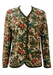 Autumnal Woodland Print Jacket in Green, Russet & Brown - L