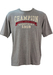 Grey Marl Champion T-Shirt with Embroidery Detail - L/XL