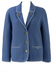 Giesswein Tyrolean Sky Blue Wool Jacket - S/M