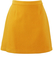 Mustard Yellow Wool Mini Skirt - S
