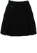 Dark Navy Mini Skirt with Inverse Pleats & Pockets - S
