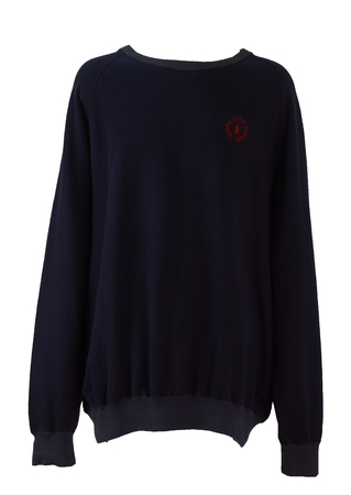 Navy Blue Ralph Lauren Polo Sweatshirt - XXL