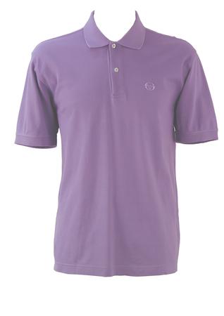 Sergio Tacchini Lilac Polo Shirt - L/XL