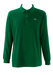 Lacoste Dark Green Long Sleeved Polo Shirt - L