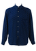Navy Blue Shirt with White Polka Dots - M/L