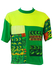 Vibrant Green T-shirt with Multicoloured Sea Creatures Print - M