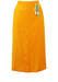 New/Deadstock Rich Yellow Midi Length Pencil Skirt - M