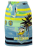 'Iceberg' Blue, Green & Yellow Nautical Themed Donald Duck Pencil Skirt - S