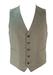 Grey and White Pinstripe Tailored Waistcoat - M