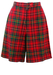 Red, Green & Yellow Tartan Culotte Shorts - S