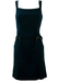Luisa Spagnoli Navy Blue Nautical Style Above the Knee Dress - M/L