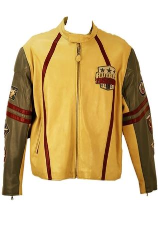 Avirex Tuskegee Airmen Leather Cafe Racer Jacket - XXL/XXXL