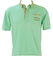 Olmes Carretti Best Company Light Blue Polo Shirt with Paisley Collar Detail - M