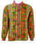 Olmes Carretti Best Company Yellow Sweatshirt with Bright Floral Pattern - M/L