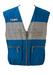 Colmar Blue & Grey Gilet Zip Jacket - L/XL