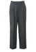 Dark Grey Pleat Front Tailored Trousers - 33""