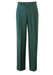 Blue Green Pleat Front Tailored Trousers - 32""