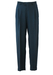 Dark Blue Pleat Front Tailored Trousers with a Fine Check Pattern - 31""